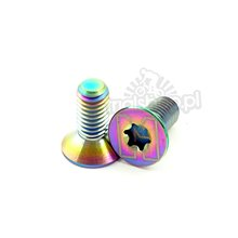 Echo Ti rainbow bolt - M5x9.5