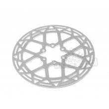 Clean alloy disc rotor