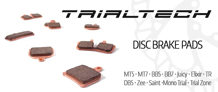 Trialtech disc brake pads